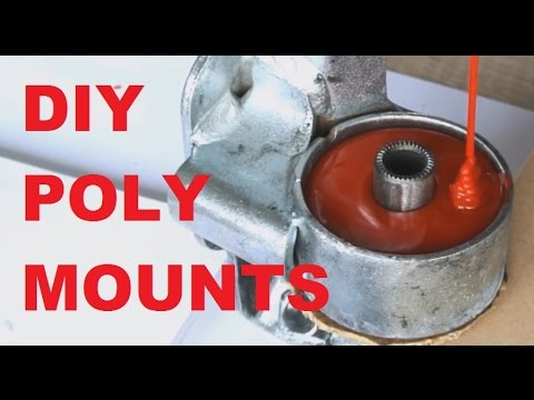 how to make diy polyurethane engine mounts youtube