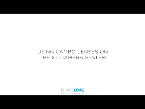 Support | Using Cambo Lenses on the XT Camera  | Phase One