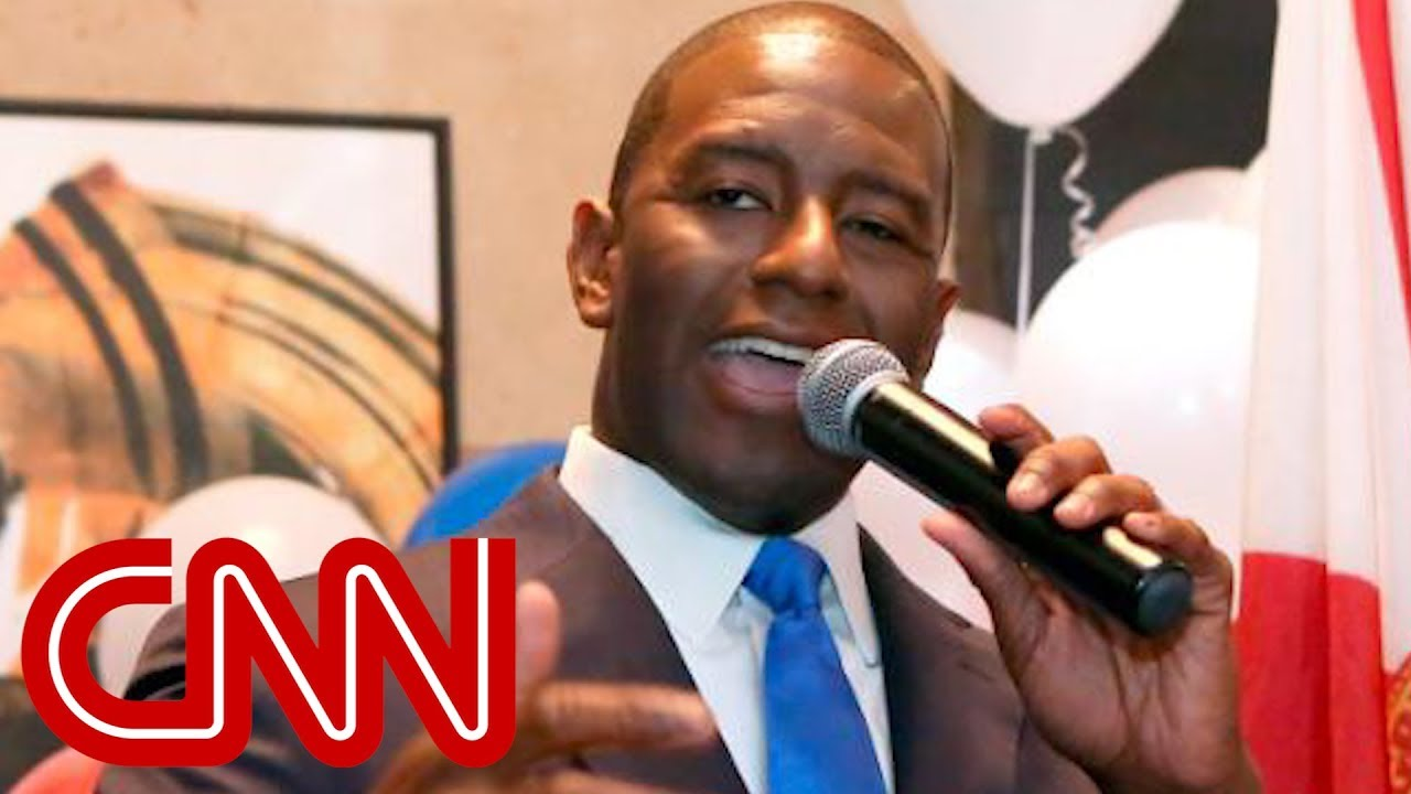 Andrew Gillum wins big upset in Florida Democratic primary