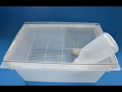 Lab Mouse Breeding Tub For Rodent Cages Production