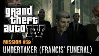 GTA 4 - Mission #59 - Undertaker [Francis' Funeral] (1080p)