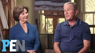 George W. Bush Says Prince Harry Really IS Prince Charming | PEN | TIME