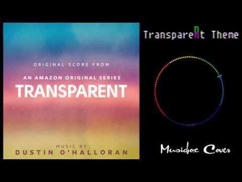 [Music box Cover]  Dustin O'Halloran - Transparent Theme