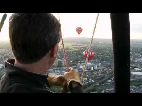 Ballooning Over London With The Sky Orchestra