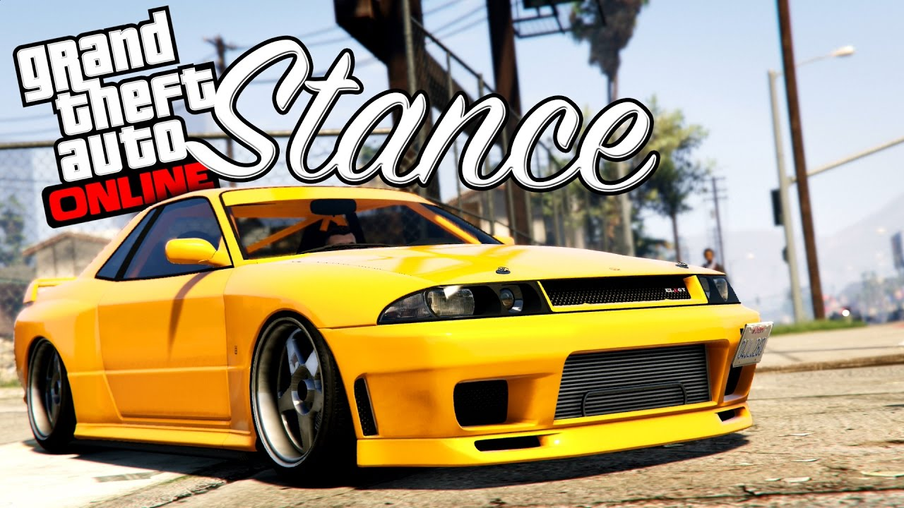 Gta Online How To Stance And Drift Your Car Youtube