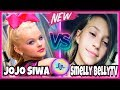 JoJo Siwa VS Smelly Belly TV Musical.ly Battle | Girls Musically Compilation 2017