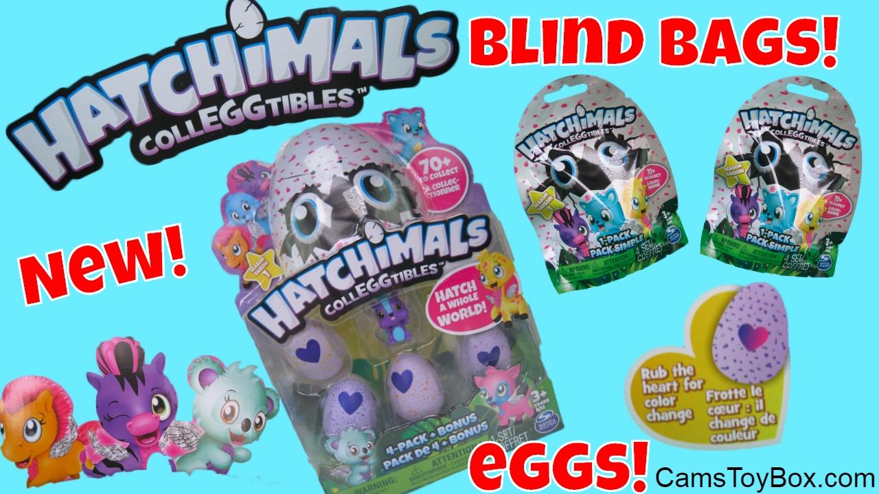 Hatchimals Colleggtibles Blind Bags Opening Surprise Eggs