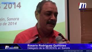 Niega Delegado de la SEDESOL Que Condicione la Entrega de Apoyo a Comunidades del Río Sonora