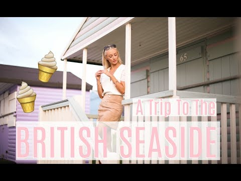 WHAT I WORE at the British Seaside!!  //  Whitstable Travel Vlog  (AD)  |   Fashion Mumblr