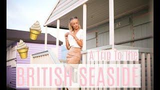 WHAT I WORE at the British Seaside!!  //  Whitstable Travel Vlog  (AD)      Fashion Mumblr