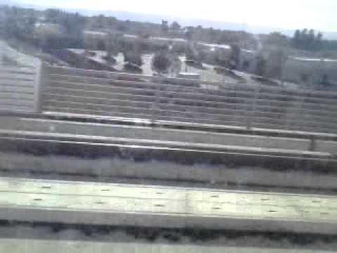On the san jose vta light rail part 3