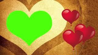 Reinigen Hochzeit Hintergrund | Schöne Gold-Liebe Video-Hintergrund Sammlung || DMX-HD-BG 284