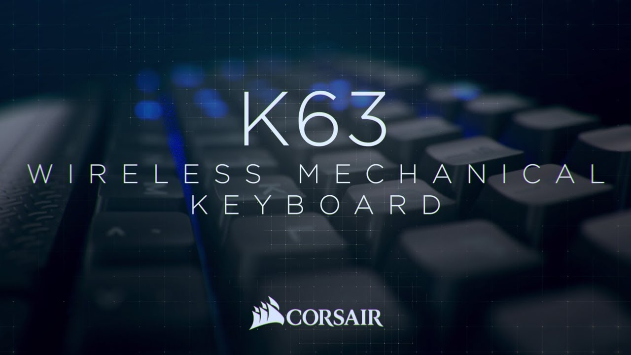 44f82cedb13 K63 Wireless Mechanical Gaming Keyboard — Blue LED — CHERRY® MX Red
