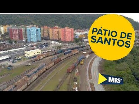MRS TV - Obra de ampliação aumenta a capacidade do pátio de Santos