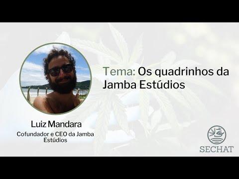 """""""Os quadrinhos da Jamba Estúdios"""" - Com Luiz Mandara"""