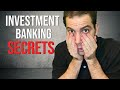 Investment Banking: Investment Banker Finance SECRETS [SHOCKING TRUTH]