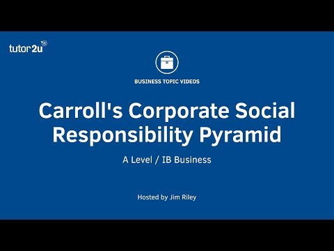 carroll s four part model En prenant en compte les différences contextuelles entre les pays one of the most used csr models is carroll's four part model of corporate responsibility.
