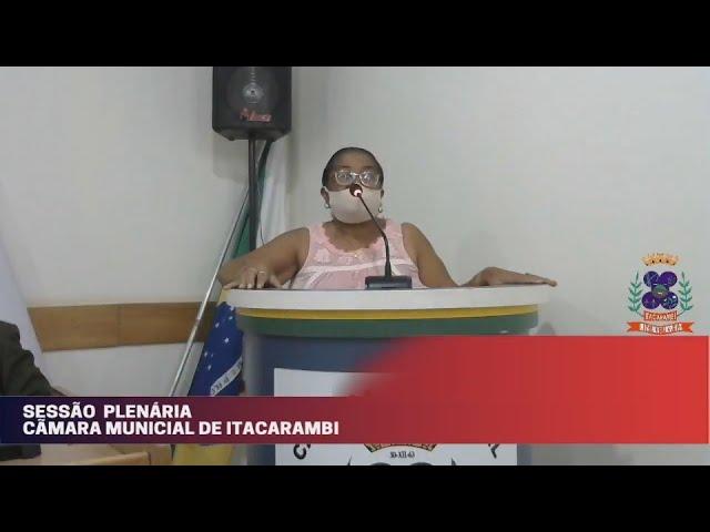 Câmara Municipal de Vereadores de Itacarambi MG Reunião realizada no dia 06/10/2021