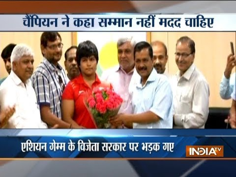 Wrestler Divya Kakran lashes out at Delhi government for lack of support