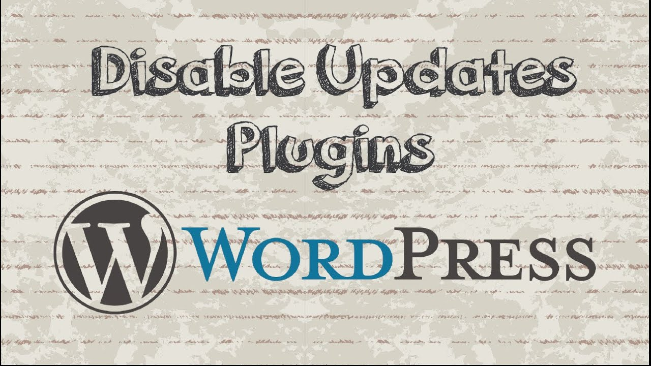 How to disable WordPress automatic updates for specific plugin