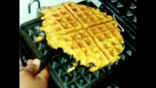 Hash Brown Waffle!