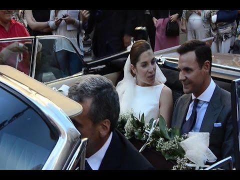 Leire Martínez y Jacobo Bustamante se casan