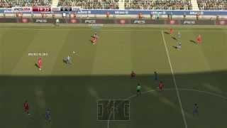 PES 2014 vs FIFA 14 gameplay HD - comparison [PS3]