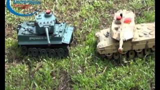 Игрушка радиоуправляемый Танковый бой 508-10(508-10 Радиоуправляемый Танковый бой Huan Qi 1:32. Видео с подробной инструкцией о том, как играть в танковый бой..., 2011-07-28T22:01:47.000Z)