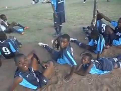 U15 Ladies soccer captain Mmaphuti Mabotja.