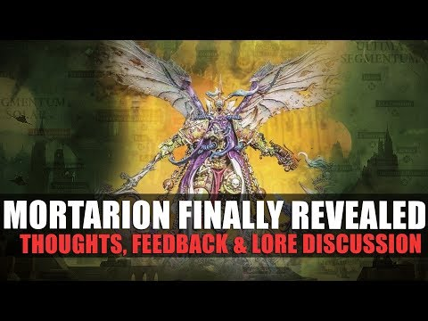 Mortarion finally revealed!