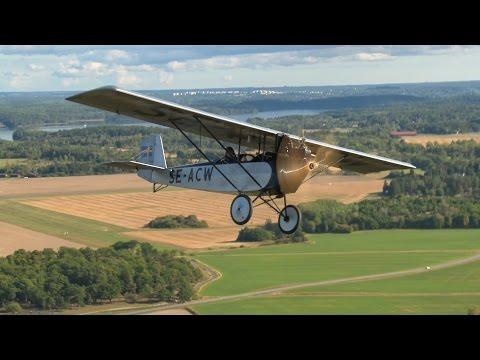 "Pietenpol Air Camper ""Kajsa"" and Per Widing. First video footage!"