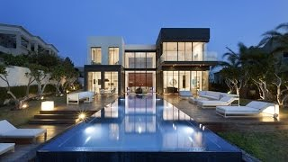 Luxury Modern House With Clean Modern Lines and Floor To Ceiling Windows by Gal Marom Architects
