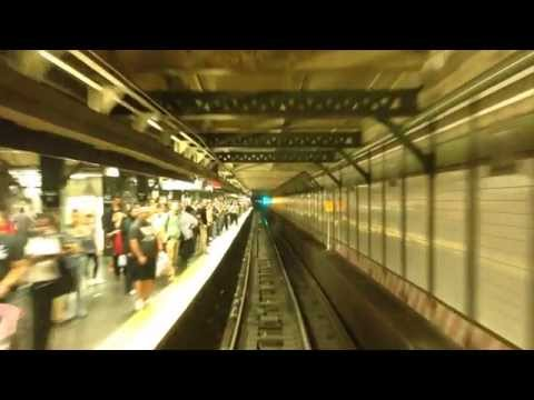 Ride the Rails: 7 Express, 34th Street-Hudson Yards to Main Street-Flushing, Real Time