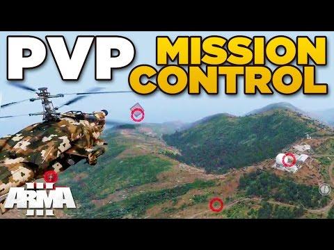 PVP - MISSION CONTROL – ARMA 3 ZEUS