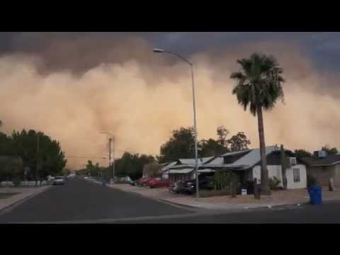 Dust storm Mesa Arizona