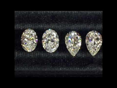 Lauren B Diamonds: Oval vs Pear Shape