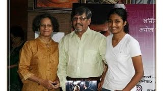 Amol Palekar and family photos with friends and relatives