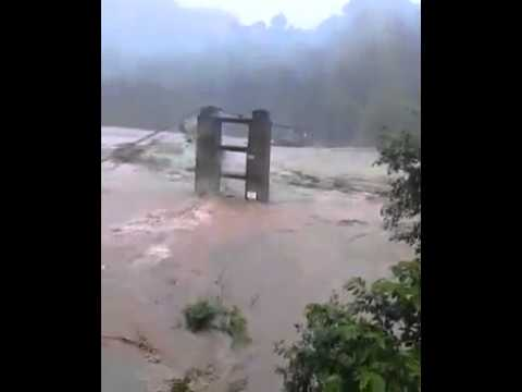 Kotli bridge destroyed