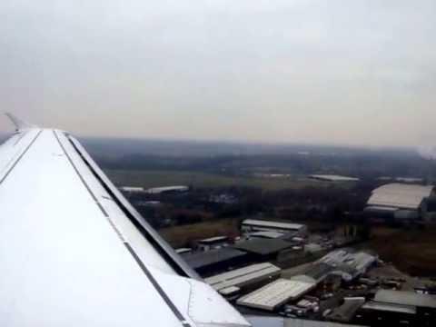 Landing Frankfurt International Airport - Lufthansa A330 - Returning From Libreville Gabon