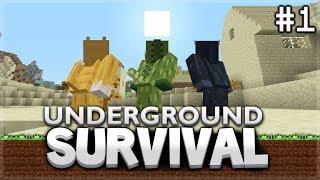Minecraft Xbox - Underground Survival - The Final Day Above Ground Episode 1
