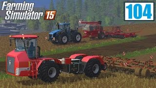 Prace siewne (Farming Simulator 15 #104), gameplay pl