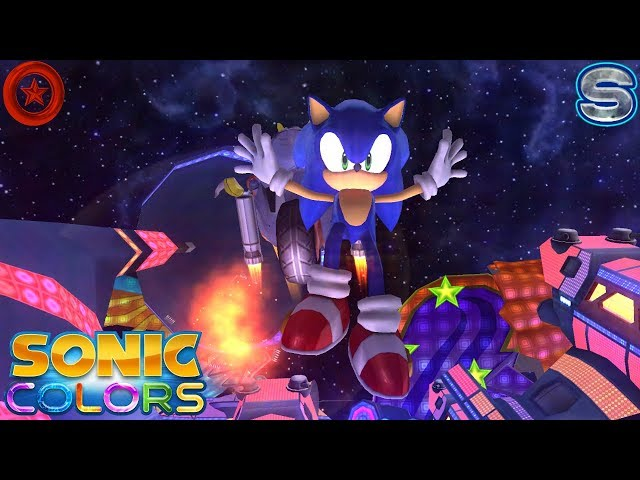 Sonic Colors (Wii) [4K] - Starlight Carnival Act 1-6 (All Red Rings + S-Ranks)