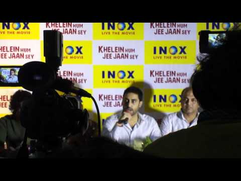 Abhi to Press (Premiere of KHJJS at INOX Forum, Kolkata)
