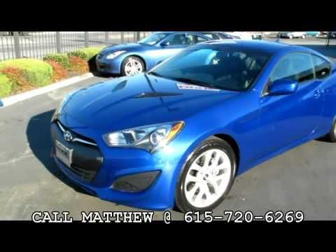 2013 Hyundai Genesis Coupe 2.0T @ Dixie Motors Inc Nashville TN
