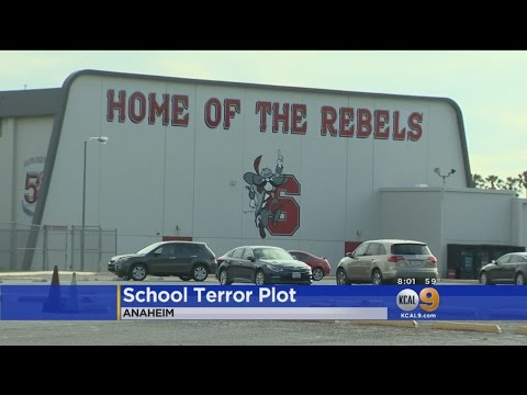 2 Anaheim Students Arrested In Campus Bomb, Shooting Plot