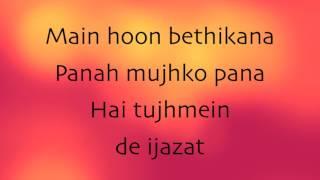 Baarish | Half Girlfriend | lyrics video song HD | instrumental song with lyrics |
