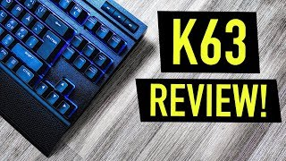 Best Wireless Gaming Keyboard 2018? Corsair K63 Wireless Review