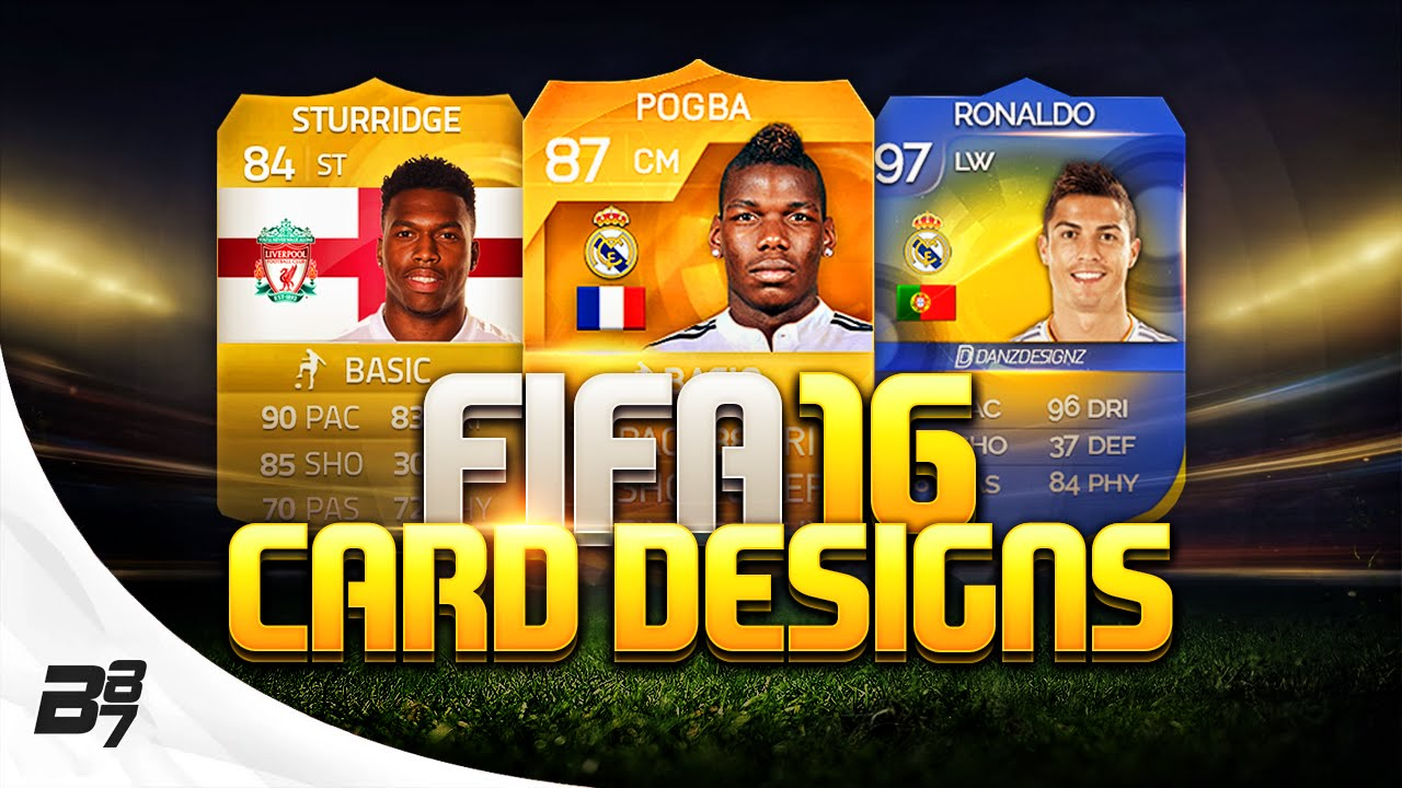 FIFA 16 | CARD DESIGNS! - YouTube