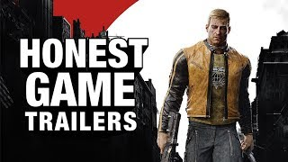 WOLFENSTEIN II: THE NEW COLOSSUS (Honest Game Trailers)