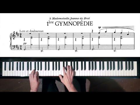Erik Satie - 3 Gymnopédies & 6 Gnossiennes - P. Barton, FEURICH piano